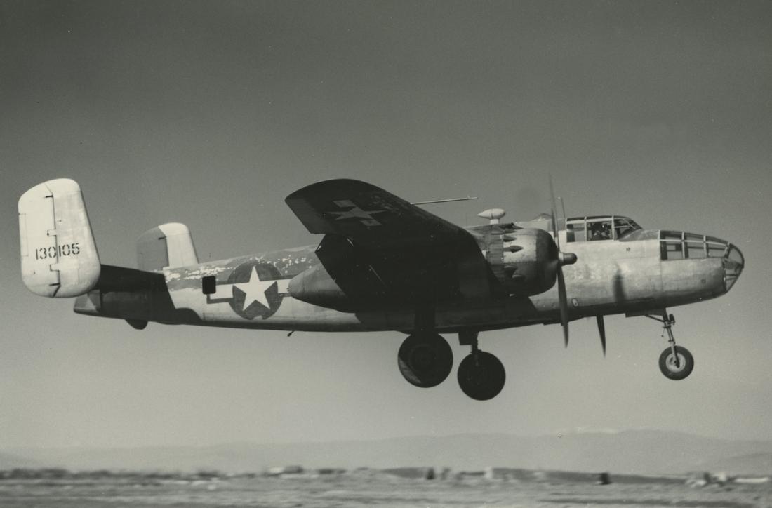 b-25d italy