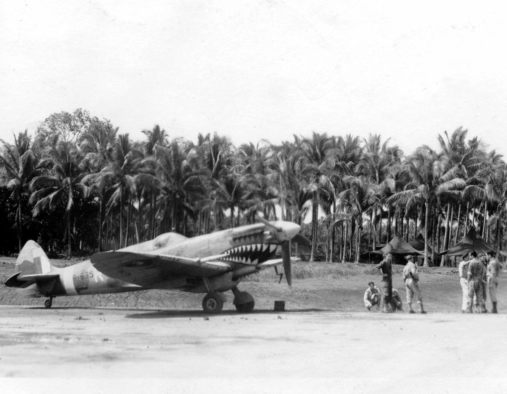Spitfire (A58-635) of No. 457 Squadron