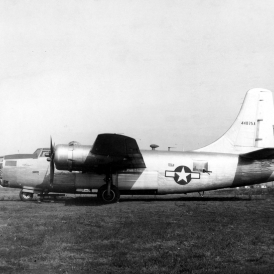 The XB-24N (44-48753) was another one-off Liberator, but not too bad an idea. It did illustrate that a B-24 was doable with only a single horizontal stabilizer.