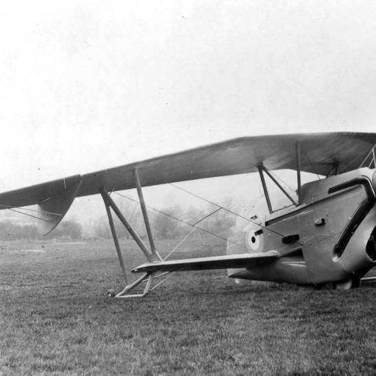 The Westland-Hill Pterodactyl was one of a number of tailless aircraft designed by that firm in the 1920s. A revolutionary idea, but I have to say that in looking at this photo one would be excused for thinking it was the result of some dire mishap.