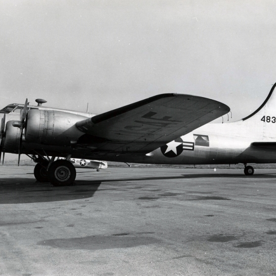 "VB-17G (44-83259) was a VIP transport for General Carl Spaatz during the time he was the Air Force's first Chief of Staff. The aircraft was nicknamed ""Boops"" after his daughter."