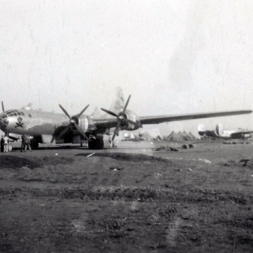 Unknown B-29 of the 468th Bomb Group.