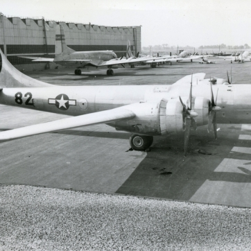 Another view of Enola Gay.