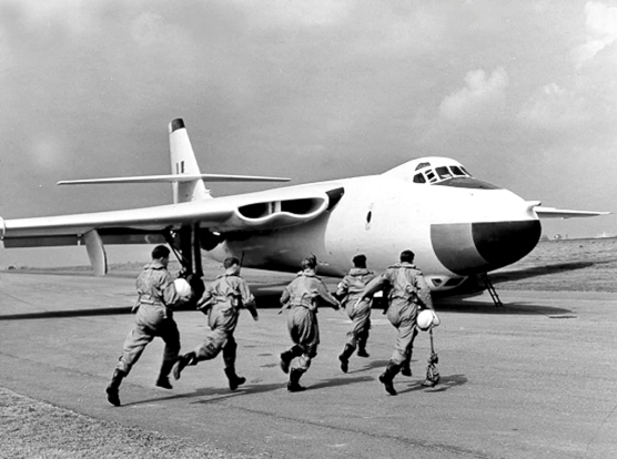 On the ground, the Valiant could be an ungainly-looking beast. Looks are deceiving things though - the Valiant was a highly respected aircraft and marked the RAF's commitment to nuclear defense.