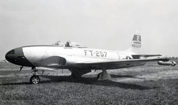44-85257 of the 56th Fighter Group