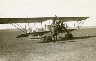 Caudron G.3 at Châteauroux-La Martinerie, 1918.