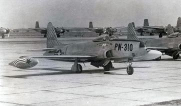 45-8310 of the 161st Reconnaissance Squadron, Jet Propelled.