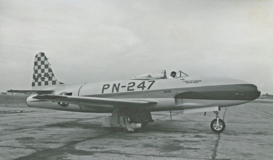 44-85247 was another P-80A assigned to Wright Field's Test Division.