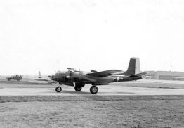 "Another visitor to Johnson AB was ""Rough Knight"" (44-35388), an A-26 of the 13th Bomb Squadron. This aircraft was shot down in 1951."