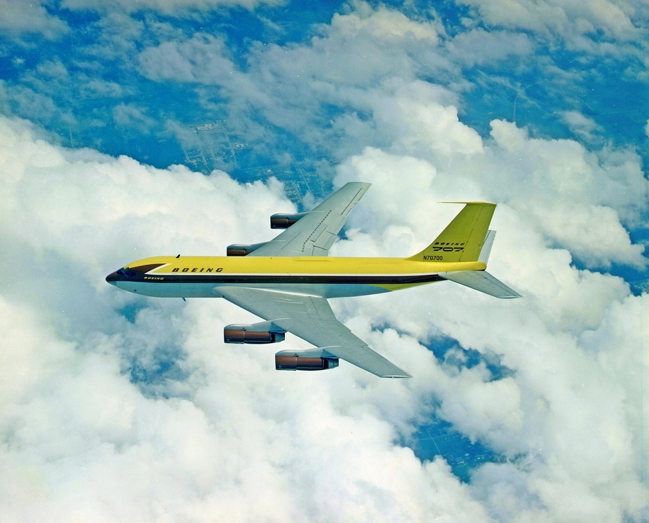 It is a testament to Boeing that even with the external design of the 367-80 now pushing 70 years of age, one could swap its four turbojets for a pair of turbofans, give it a modern paint scheme, and still have an airliner that would differ very little from those of today.