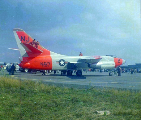'444 again, same open house. Day-glo orange was, of course, all the rage back then.