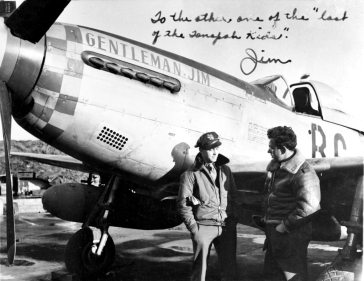 """Gentleman Jim"" flown by James ""Jim"" Browning."
