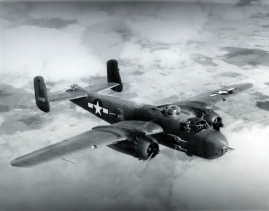 "B-25H (43-4110) was the sixth ""H"" model built."