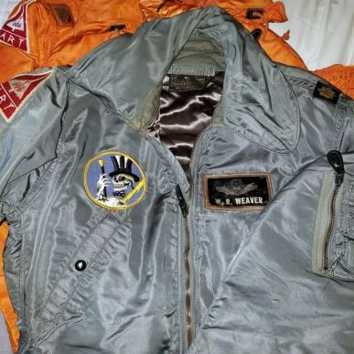 95th Fighter Interceptor Squadron, Andrews AFB. What sets this one apart is the F-106 patch; as we have already seen, the same patch was worn by the 5th FIS. This is no big deal except that said patch is attributed to that squadron, not the 95th. Why was the 95th pirating a patch from the 5th? Because they (or this pilot) felt like doing so. Lesson: anything goes when it comes to patches.