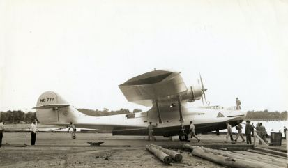 """The only PBY sold to a civilian in the pre-war years was this example. Nicknamed """"Guba"""", it was used for research in the South Pacific."""