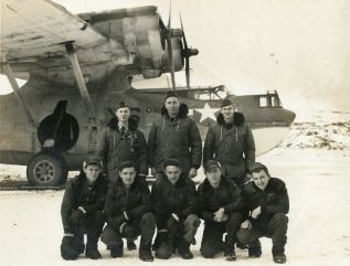 Men of VPB 43 on duty in the Aleutian Islands.