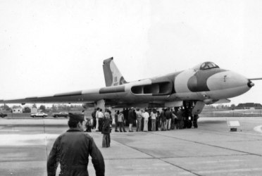 Vulcan XM597 would become famous for its role in the upcoming Falklands War in 1982 when it became one of only two Vulcans to drop weapons in actual combat.